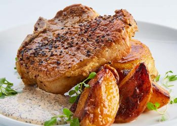 Seared Pork Chop
